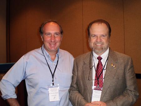 da sinistra dott. Massimo Drommi Dott. Stephen Isham